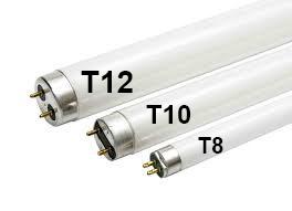lâmpada fluorescente troca por led